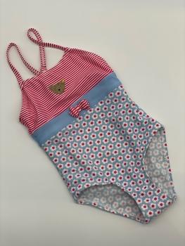 Steiff - Badeanzug Bär in rosa / hellblau